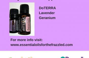 doterra lave & geranium