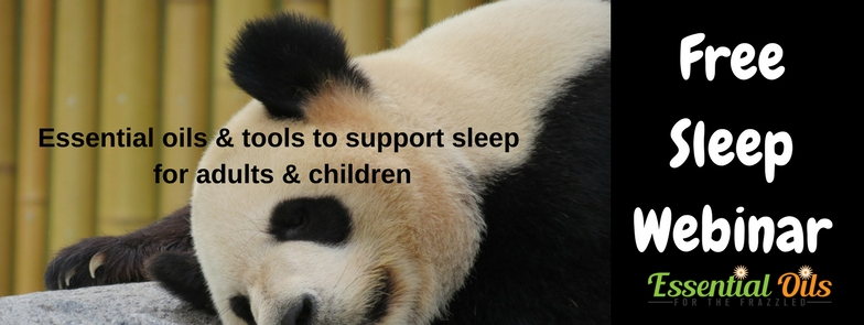 Webinar - Essential Oils for Supporting Sleep