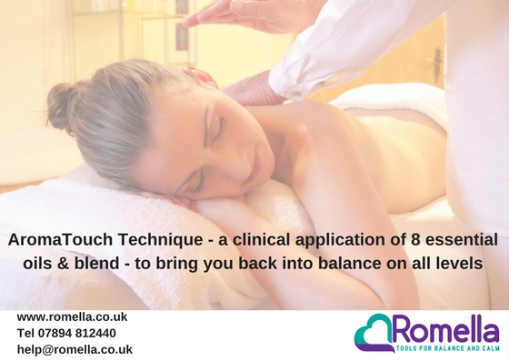 Clinical Massage using Essential Oils - Aromatouch