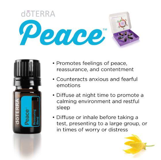 Emotional Essential Oils - Peace