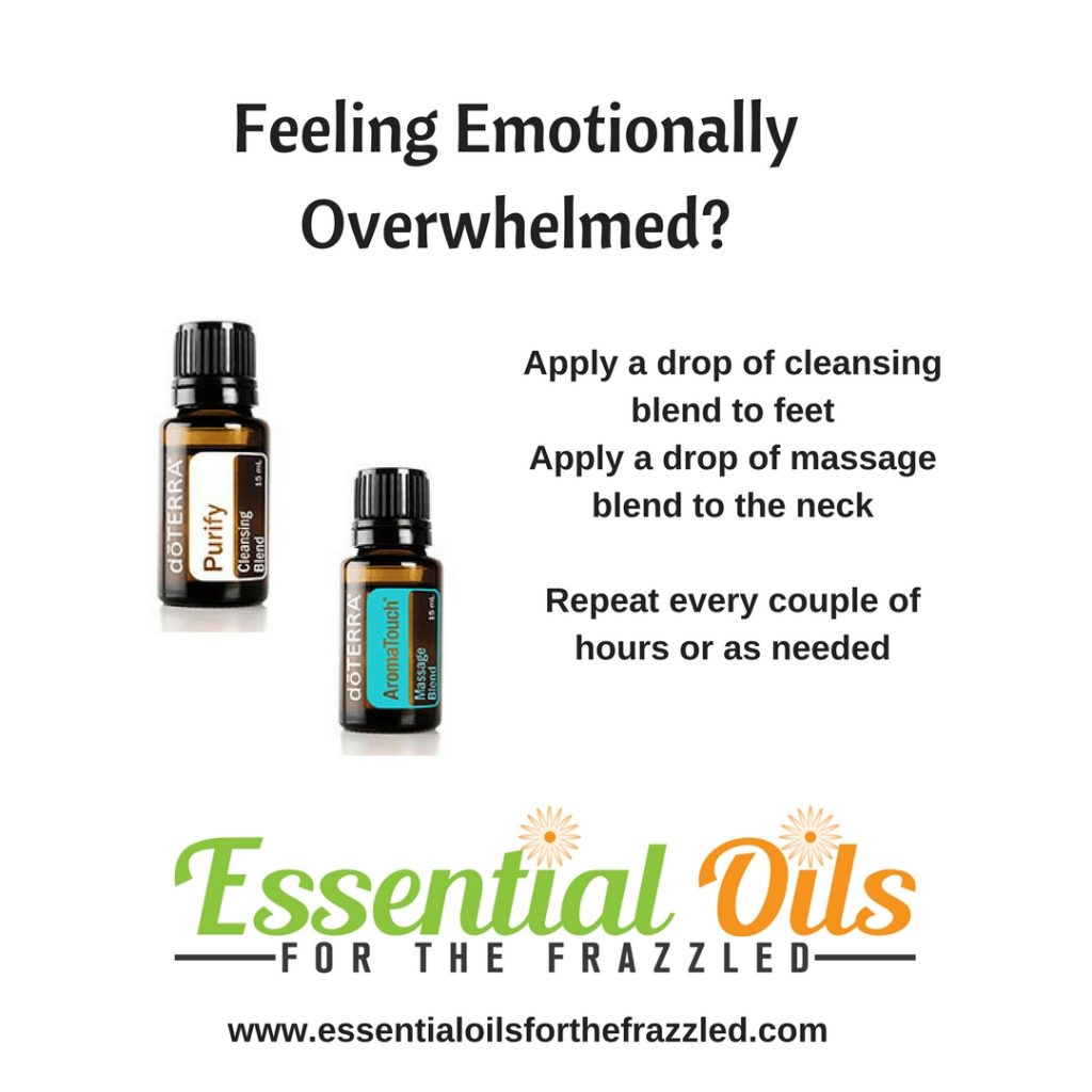 Feeling Emotionally Overwhelmed - there's an oil for that!