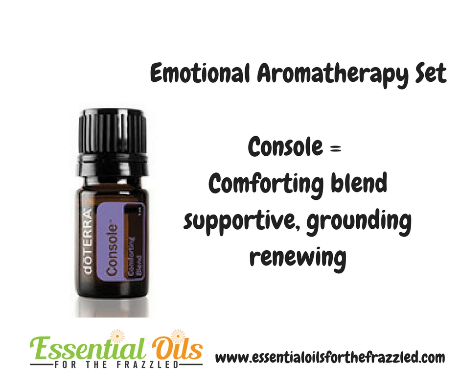 Emotional Essential Oil - console