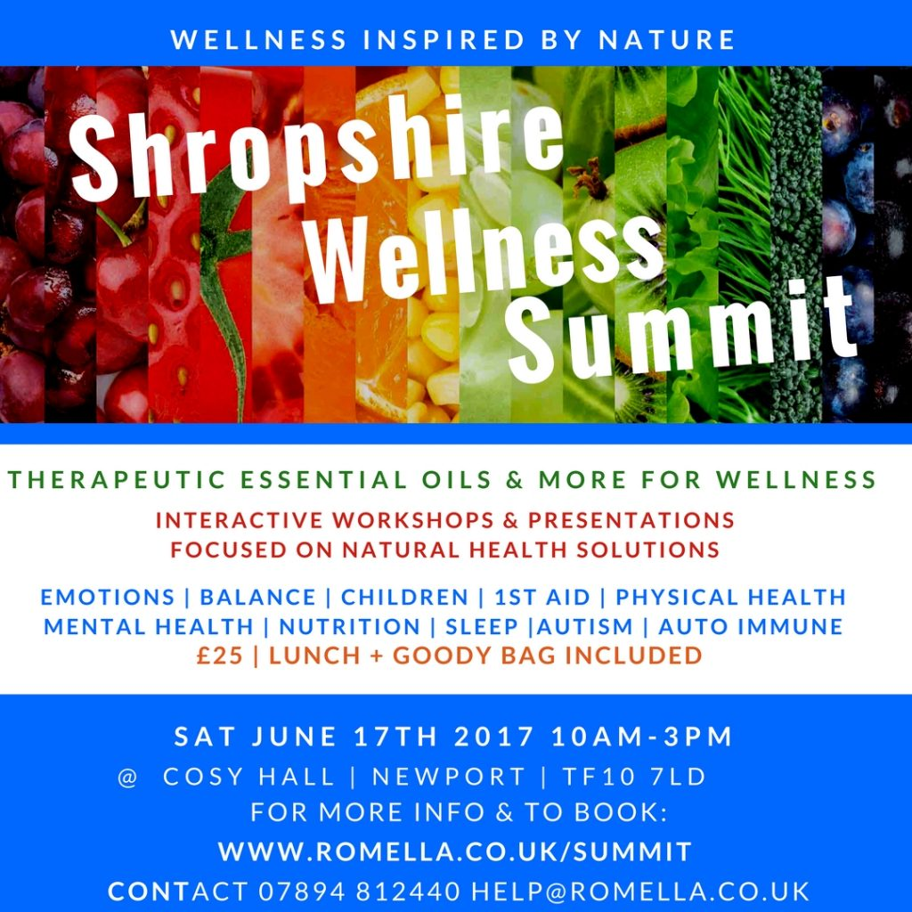 Shropshire Wellness Summit - June 2017